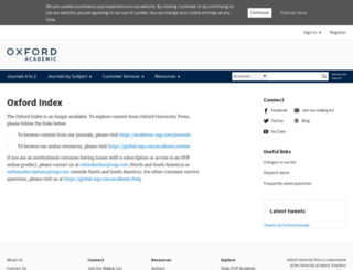 oxfordindex.oup.com screenshot