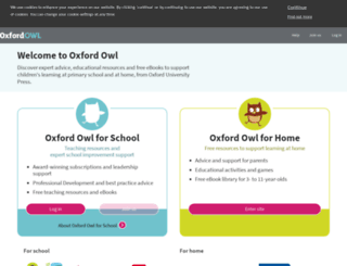 oxfordowl.co.uk screenshot