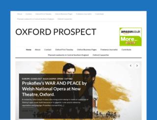oxfordprospect.co.uk screenshot