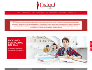 oxfordschool.com screenshot