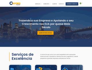 oxfordusa.com screenshot