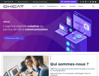 oxicat.com screenshot