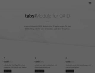oxid-module.eu screenshot