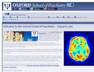oxpsych.com screenshot