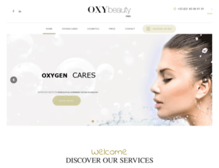 oxybeauty-paris.com screenshot