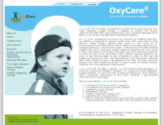 oxycareclinic.com screenshot