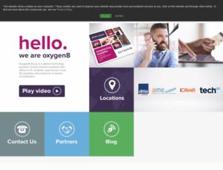 oxygen8.com screenshot