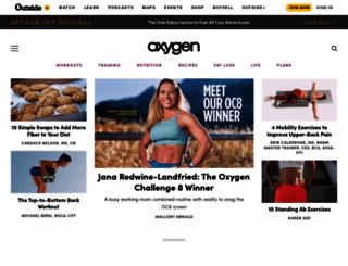 oxygenmag.com screenshot