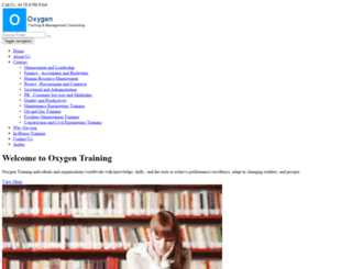 oxygentraining.org screenshot
