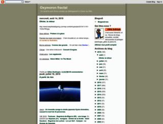 oxymoron-fractal.blogspot.fr screenshot