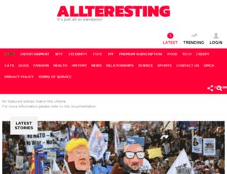 oy.allteresting.com screenshot