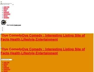 oyecomedy.com screenshot