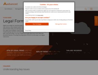oyezforms.co.uk screenshot