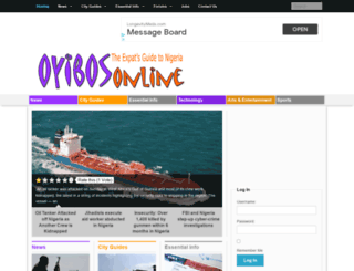 oyibosonline.com screenshot