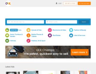 oyo.olx.com.ng screenshot