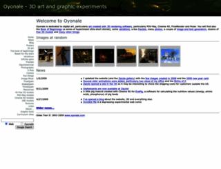 oyonale.com screenshot