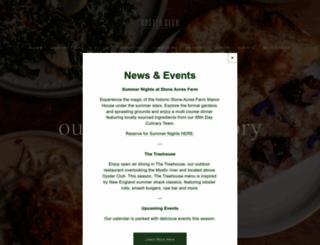 oysterclubct.com screenshot