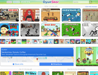 oyun-skor.com screenshot