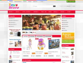 oyuncak155.opencart-themes.org screenshot