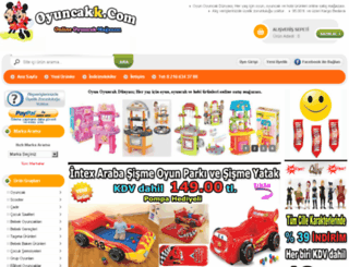 oyuncakk.com screenshot