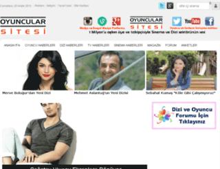 oyuncularsitesi.com screenshot