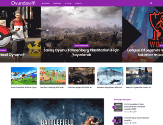 oyundayim.com screenshot