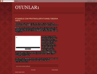 oyunlar1-oyna.blogspot.com screenshot