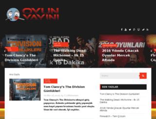 oyunyayini.com screenshot