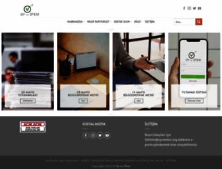 oyveotesi.org screenshot