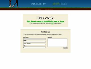 oyy.co.uk screenshot