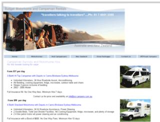 oz-campers.com.au screenshot