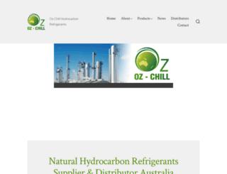 oz-chill.com screenshot