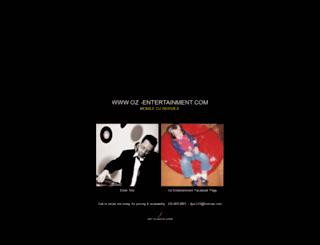 oz-entertainment.com screenshot
