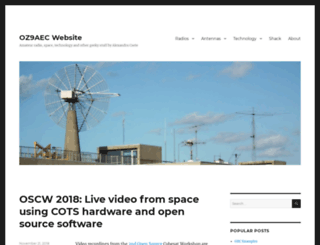 oz9aec.net screenshot
