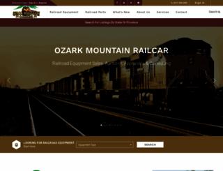 ozarkmountainrailcar.com screenshot