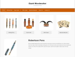 ozarkwoodworker.com screenshot
