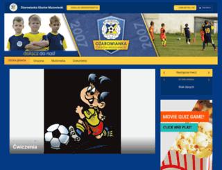 ozarowianka2007.futbolowo.pl screenshot