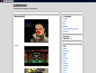 ozeen24.blogspot.com screenshot