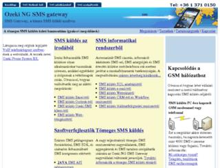 ozeki-sms-gateway.hu screenshot