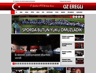ozeregli.com screenshot