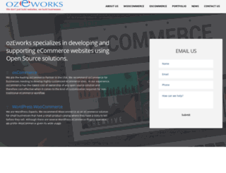 ozeworks.com screenshot