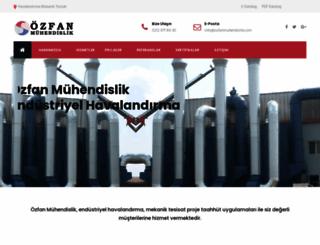 ozfanmuhendislik.com screenshot