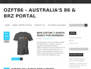 ozft86.com.au screenshot