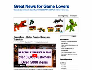 ozgemtoys.wordpress.com screenshot