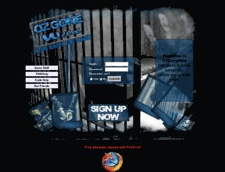 ozgonewild.com screenshot
