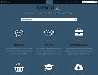 ozgrid.com screenshot