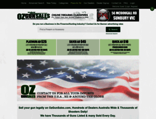 ozgunsales.com screenshot