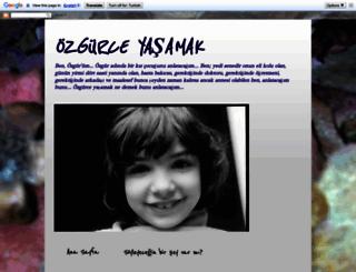 ozgurceyasamak.blogspot.com screenshot