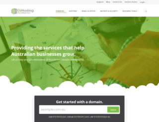 ozhosting.com screenshot