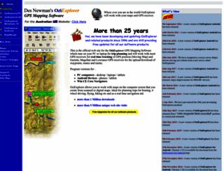 oziexplorer3.com screenshot